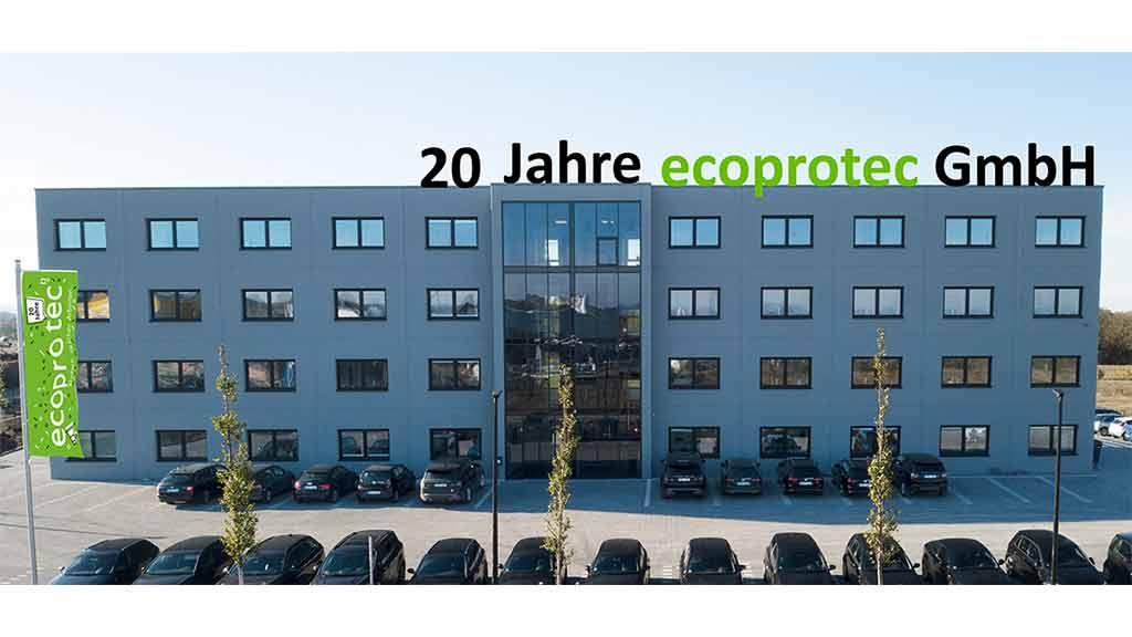ecoprotec feiert 20 jähriges Jubiläum