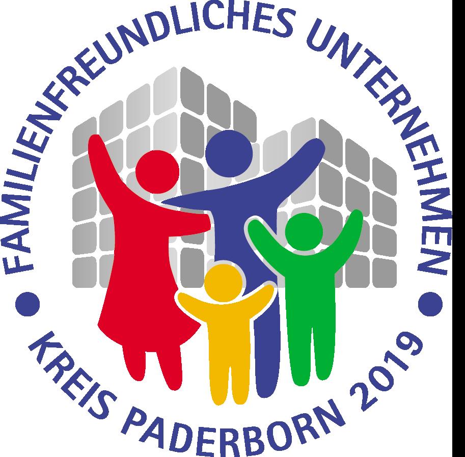 familienfreundliches Unternehmen Kreis Paderborn Auszeichnung Sigel Logo