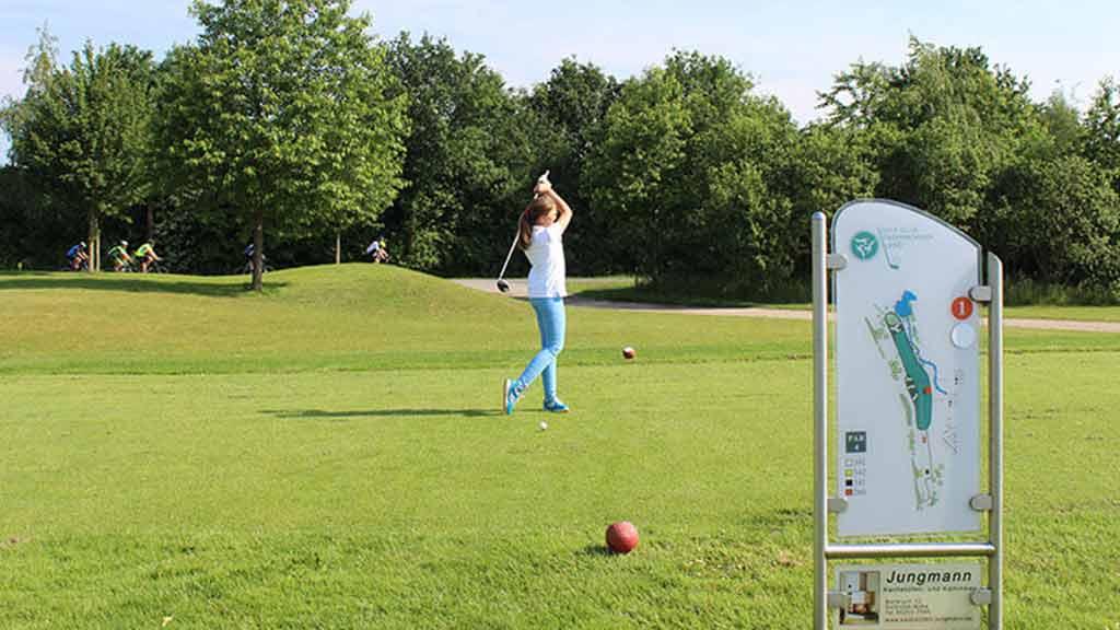 Golfturnier Paderborn ecoprotec 2016 Abschlag