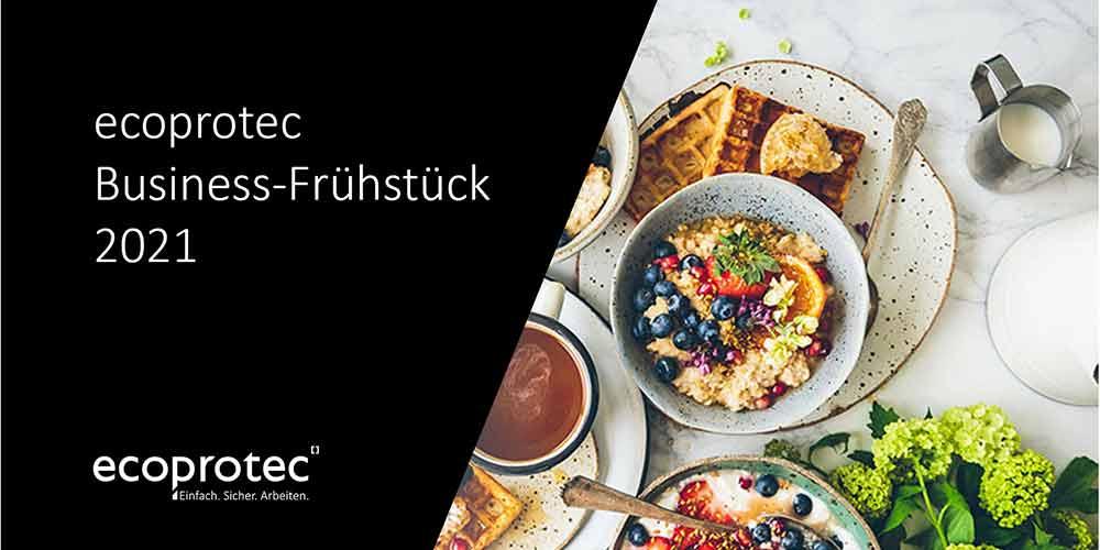 Digitales Business Frühstück ecoprotec Preview