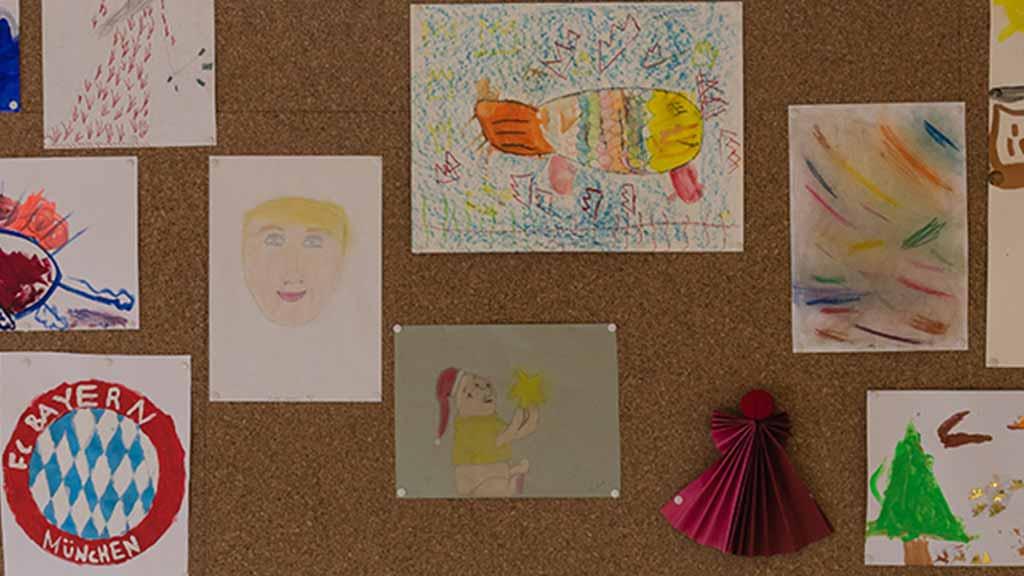 Kinder Bilder malen zeichnen Kunst