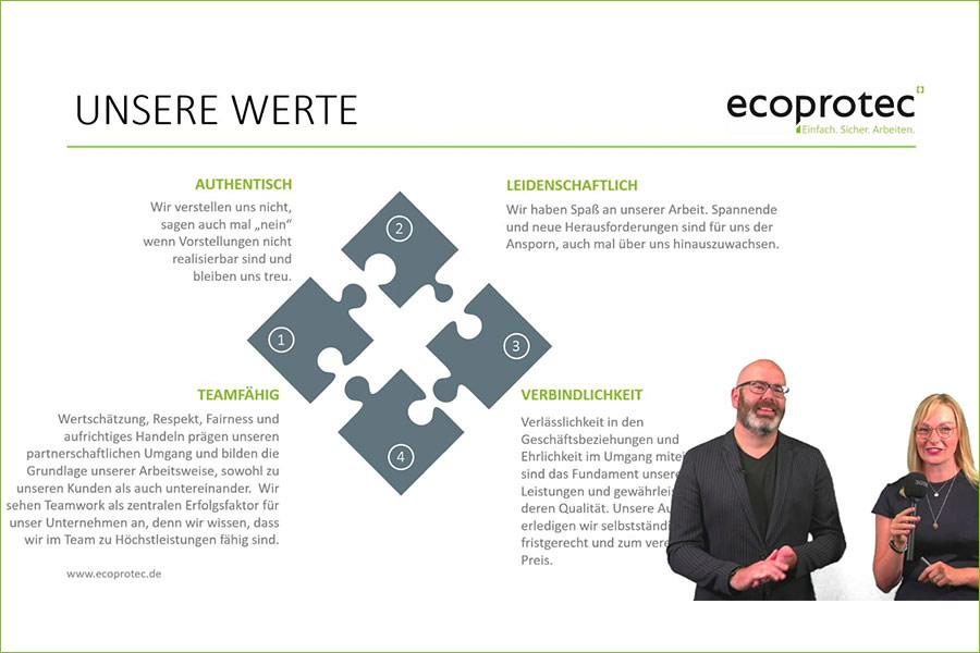 Digitales Business-Frühstück 2021 Moderatoren ecoprotec GmbH Paderborn