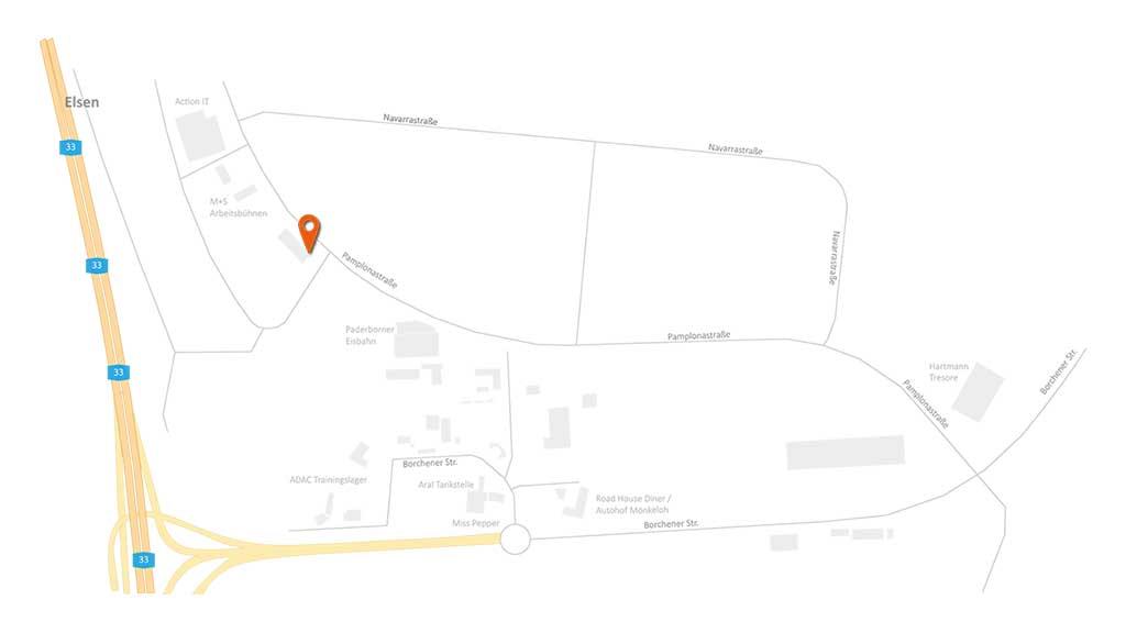ecoprotec GmbH Paderborn Wegbeschreibung Anfahrt Karte