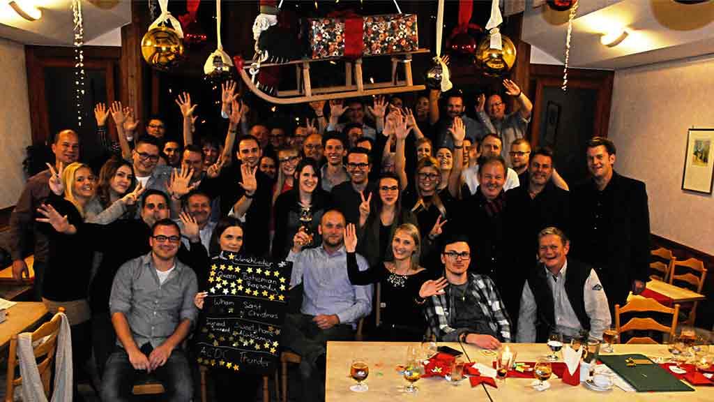 ecoprotec Weihnachtsfeier 2015 Gruppenbild