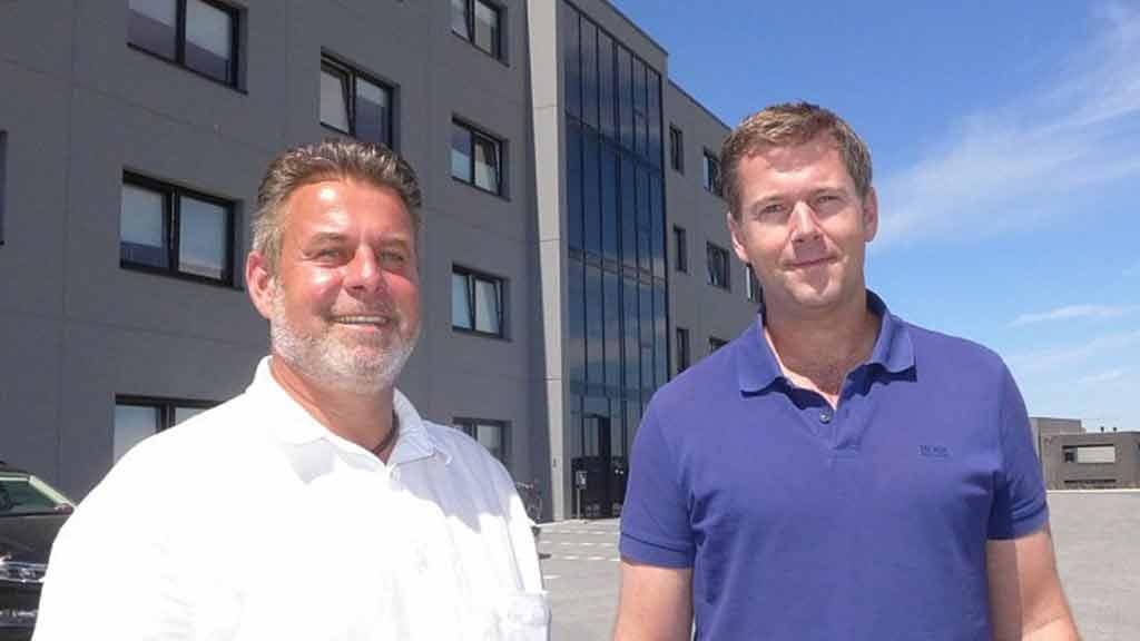 ecoprotec GmbH Geschäftsführer Markus Engemann Christop Rogalla neue Zentrale Paderborn Zeitungsartikel Neue Westfälische