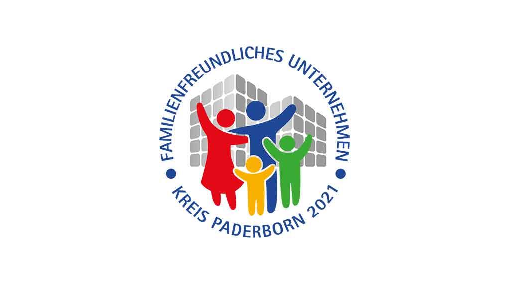 Logo familienfreundliches Unternehmen 2021 ecoprotec Paderborn